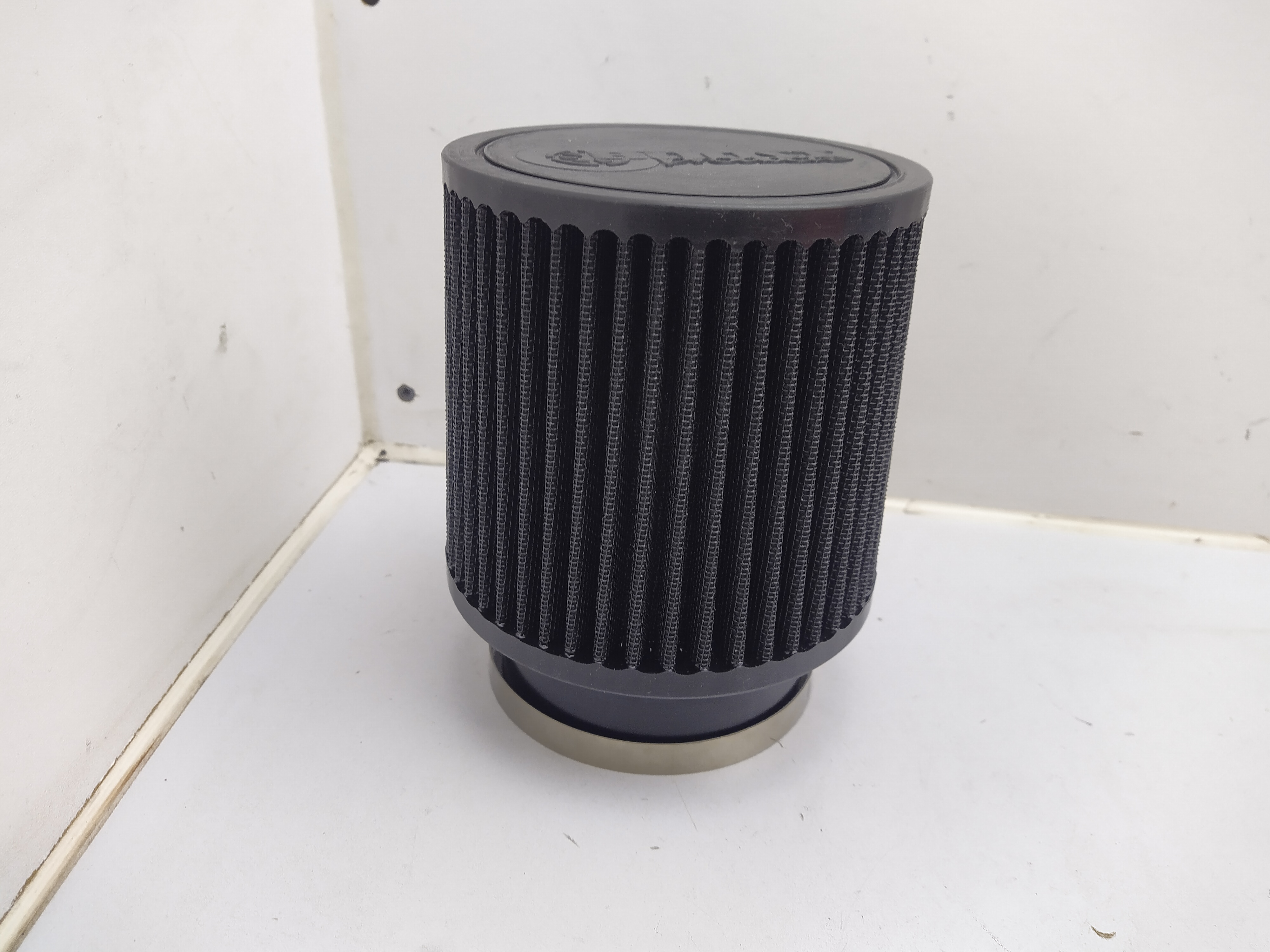 Universal Luftfilter schwarz 127mm / 89mm Anschluss Sportluftfilter