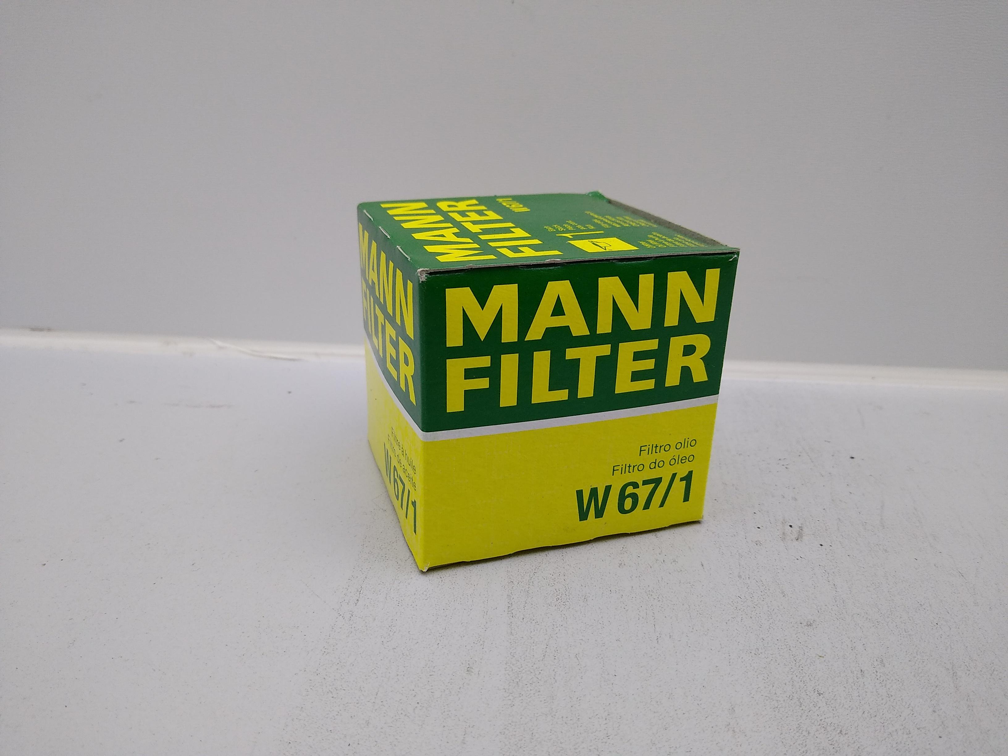 Mann Filter Ölfilter W67/1 für Subaru EJ Motoren