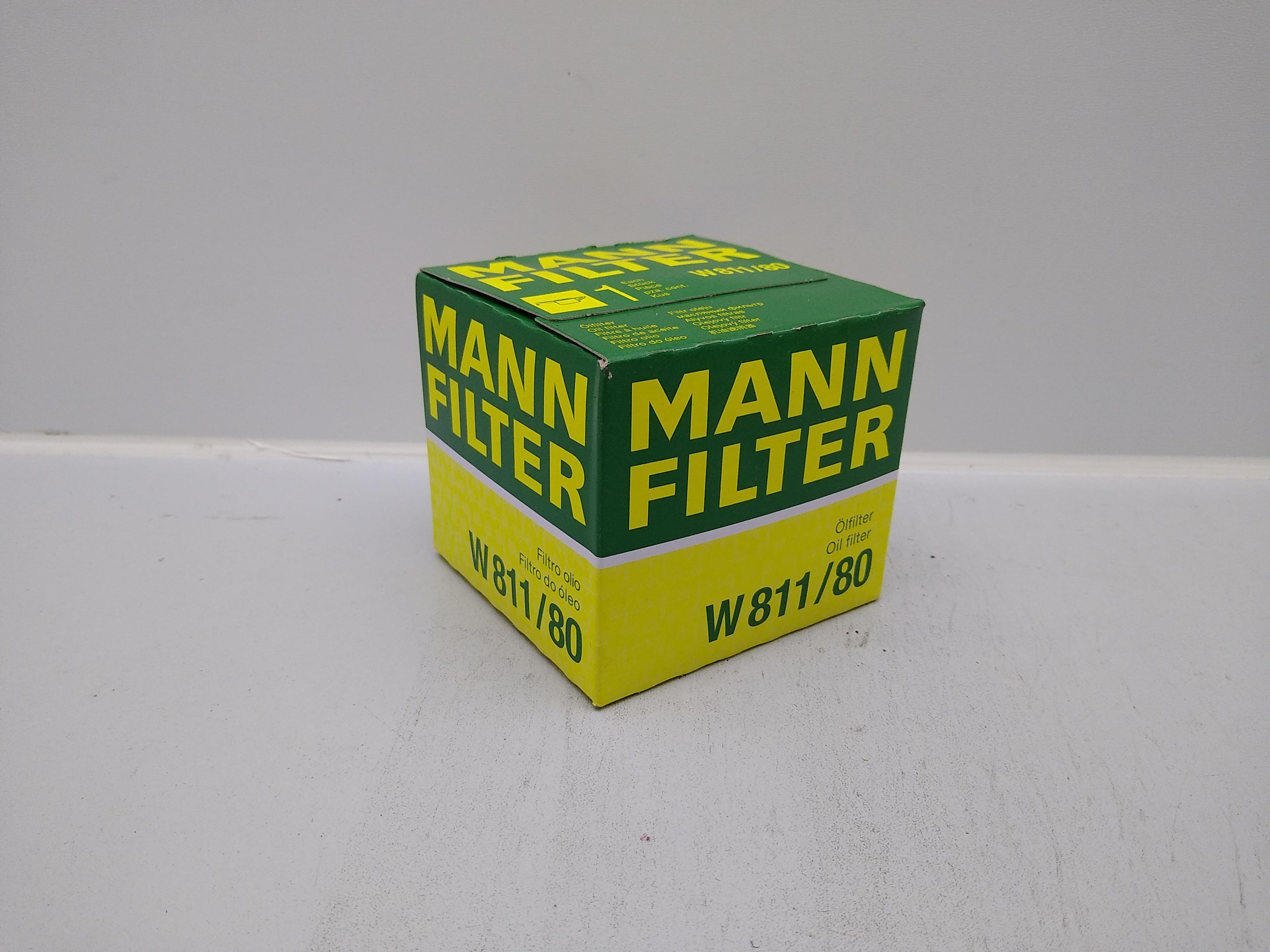 Mann Filter Ölfilter W811/80 für Subaru SVX EG33