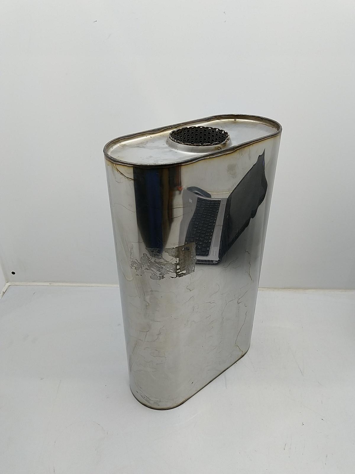 Uni-Schalldämpfer Oval 76mm 3 Zoll